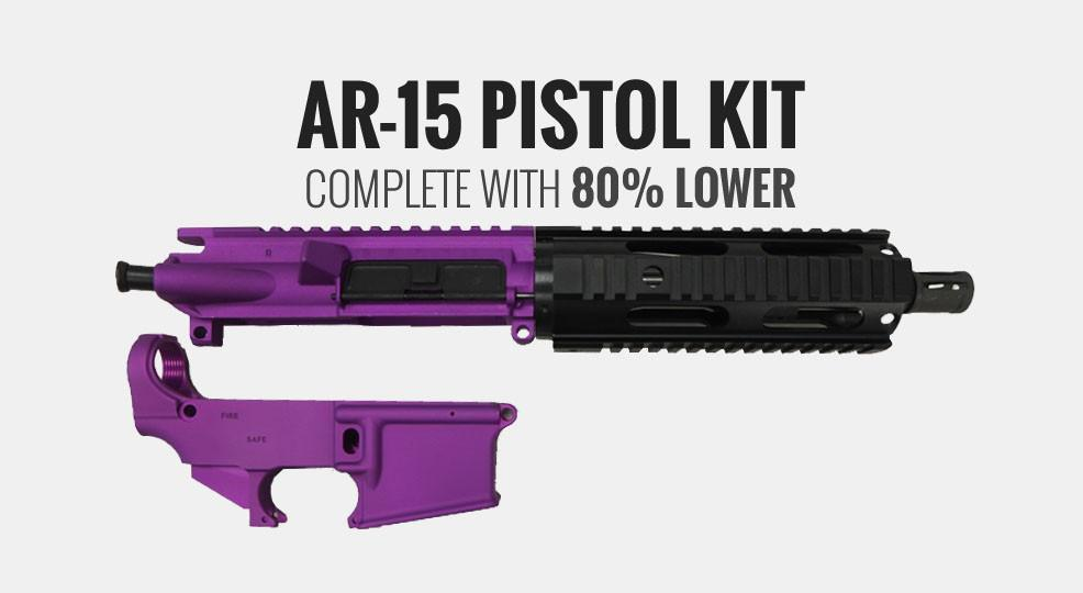 Valentine's Day Special, Complete AR-15 Kit w/ 80% Lower - $368 10