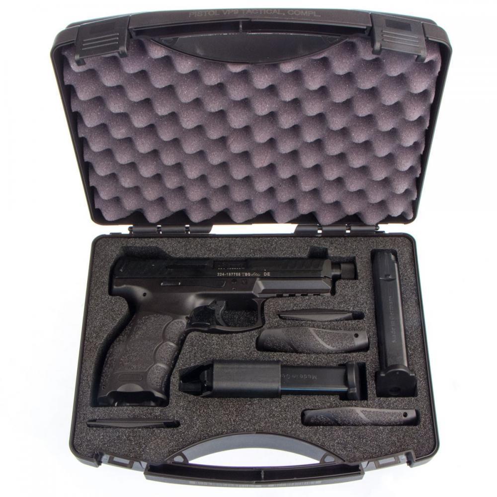 H K Vp9 Tactical 9mm 4 7 Threaded 15 Rnd Luminescent Sights 579 99 Gun Deals