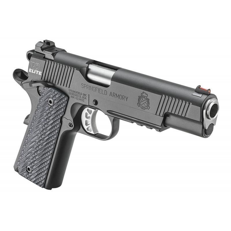 Springfield 1911 Range Officer Elite Operator Black Armory Kote  45 ACP  5-inch 7Rds - $870 99 ($7 99 S/H on firearms)