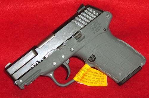 Kel-Tec PF-9 9mm Gray Frame Blue Slide - $279 99 (Free S/H over $25)