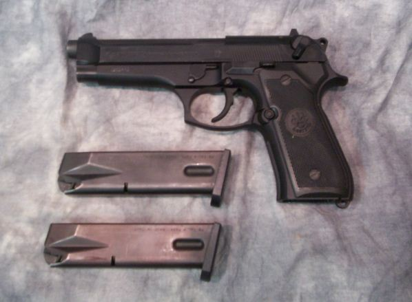 Used Beretta 92fs 9mm - $407