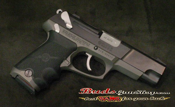 RUGER P 90 DC 45 CAL FACTORY GRIP Removed from a working pistol