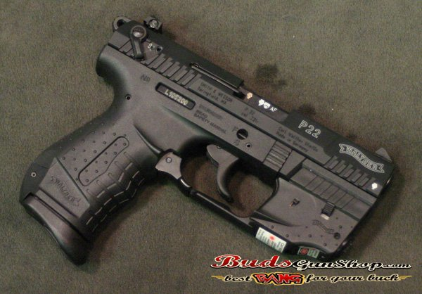 Used Walther P22 Laser - $294