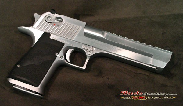 Used Magnum Research Desert Eagle  50 Chrome - $1449