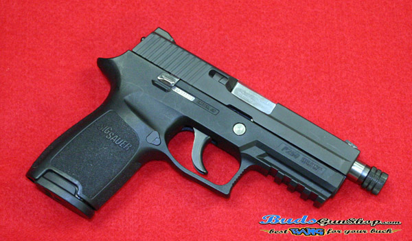 Used Sig Sauer P250 Threaded Barrel Night Sights - $419