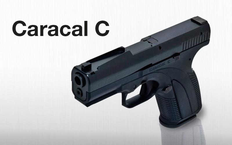Caracal C Quick Sight 9mm 3 6
