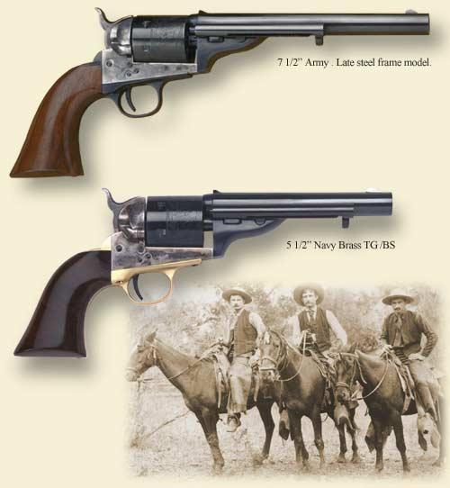 1872 Open Top Navy Revolver - $424
