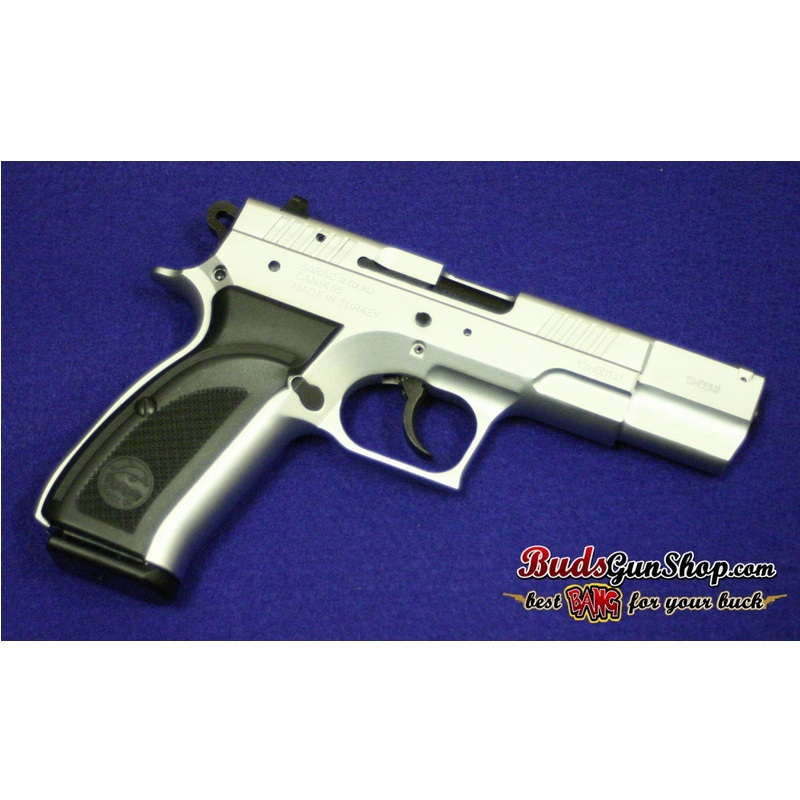 Canik55 Dolphin 9mm 472 Barrel 15 Rnds Chrome Finish 379