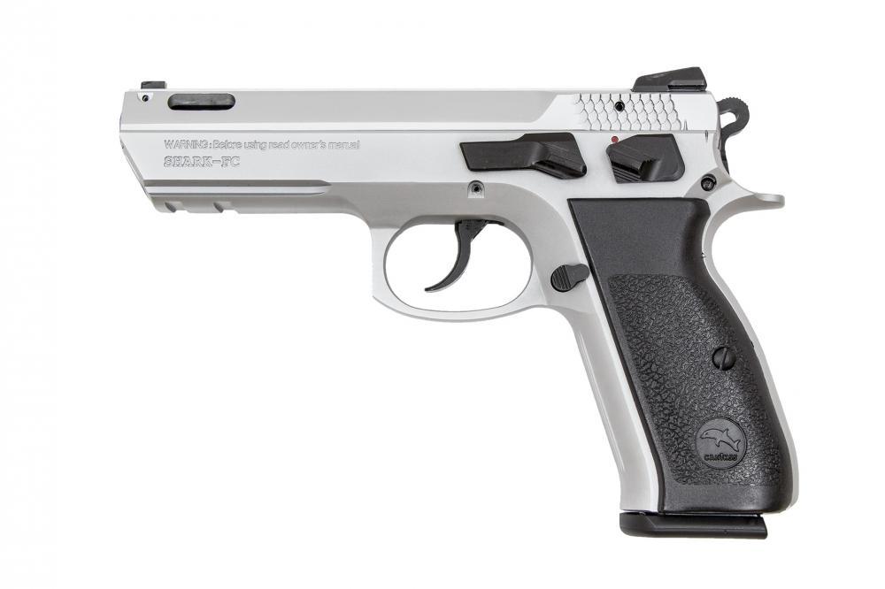 Canik 55 Shark-FC Ported Semi Auto Handgun 9mm Luger Aluminum Frame ...
