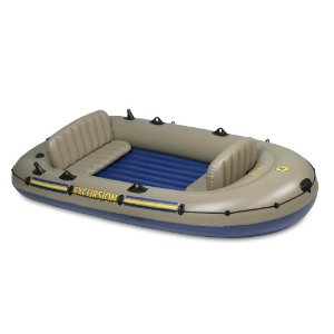 Intex Excursion 4 Boat Set + Free Shipping - $89 95 (Free S/H over $25)