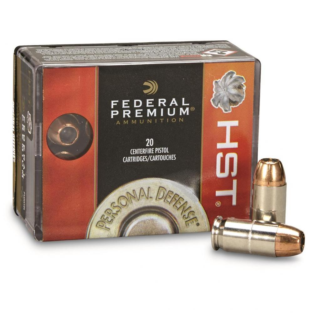 Federal Premium Personal Defense,  45 Auto, HST, 230 Grain, 20 Rounds -  $15 19