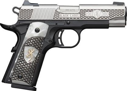 Browning 1911-380 Black Label  380 ACP 4 25