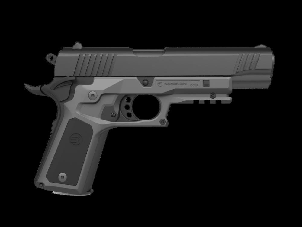 New Release - 1911 Grips CC3P Grip and Rail Adapter with Grip ...