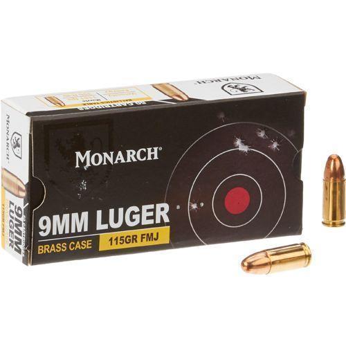 Monarch Fmj 9 Mm Luger 115 Grain 50 Rd 8 99 Free S H