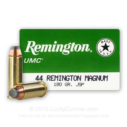 44 Mag - 180 Grain JSP - Remington UMC - 500 Rounds - $275