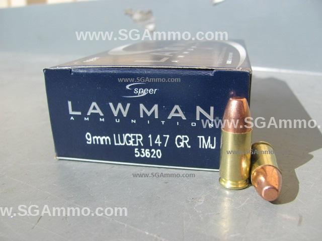 1000 rd case - 9mm Luger Speer Lawman 147 grain TMJ Subsonic Ammo 53620 -  $199 80