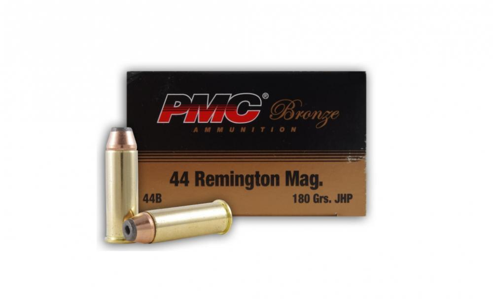 PMC Bronze  44 Magnum 180 Grain JHP 25 rounds - $18 99 (Free 2-Day Shipping  over $50)
