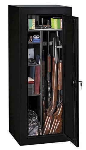 Stack-On 12 00 cu ft 18-Gun Convertible Steel Security Cabinet with Key  Lock - $99 after Menards MIR (ship to store)