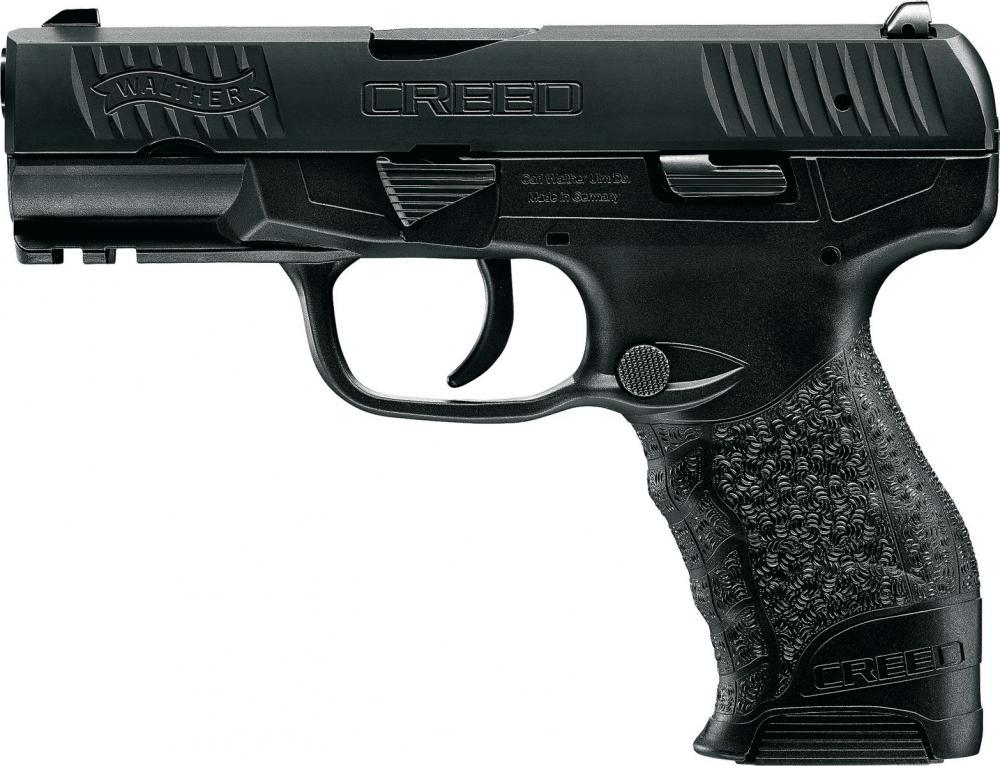Preorder - Walther Creed 9mm Luger 4 inches 10rd Matte Black Non-Slip Grip  texturing - $329 99 (free in store pickup)