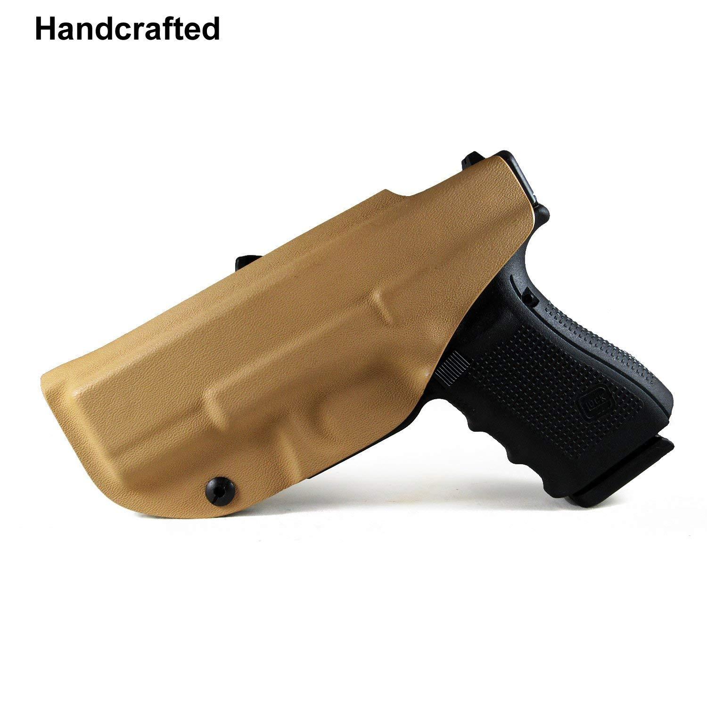 B B F Make IWB KYDEX Holster Fits: Glock 19/Glock 19x/Glock
