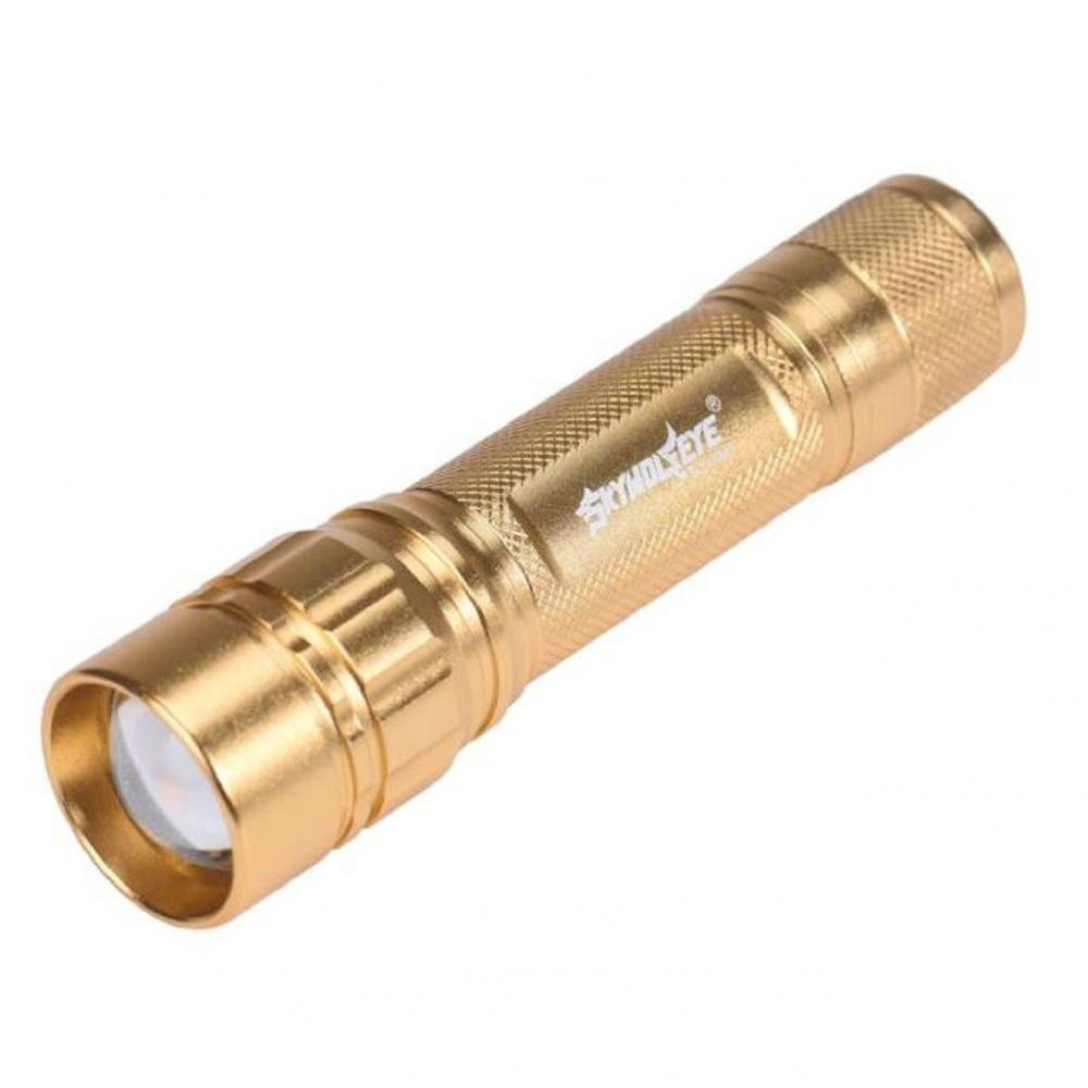 ABC Focus 3 Modes CREE XML T6 LED 18650 Flashlight Torch Powerful (Gold/Silver) - $2.48 + $1 shipping (Free S/H over $25)