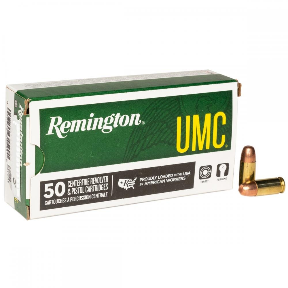 Remington UMC 9mm 147gr FMJ 50 Rounds - $10 99