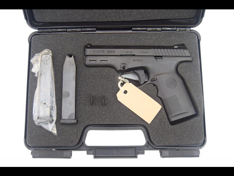 Steyr M40  40 S&W Pistol, Semi-Auto, W /2-12 Round Mags - Factory New in  Box - By Steyr Mannlicher Austria - $379 99 (NOT M4-A1)