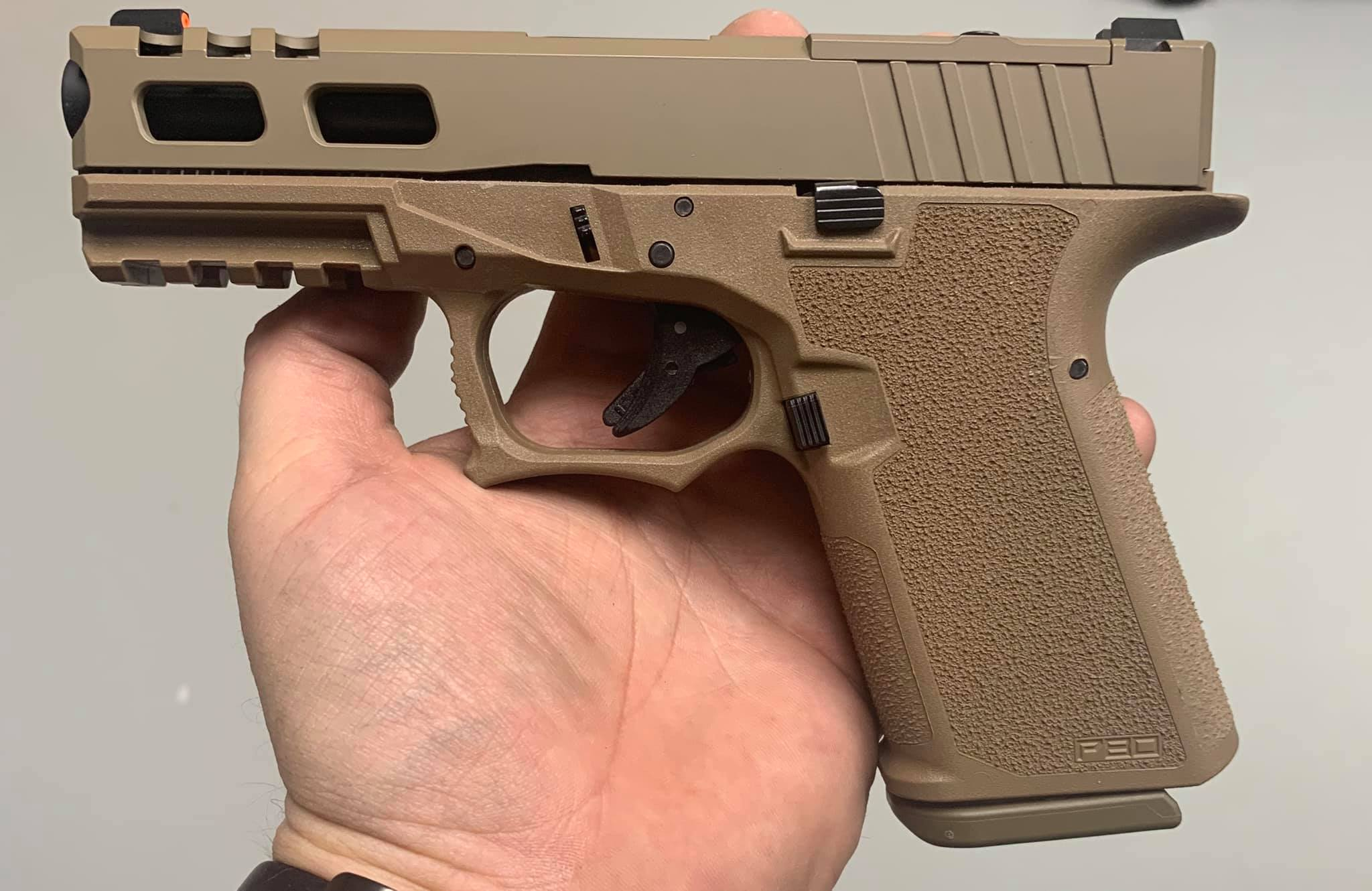 Gorilla Machining Glock 19 Build Your Upper Half Custom Slides with  Trijicon RMR cut out - $260