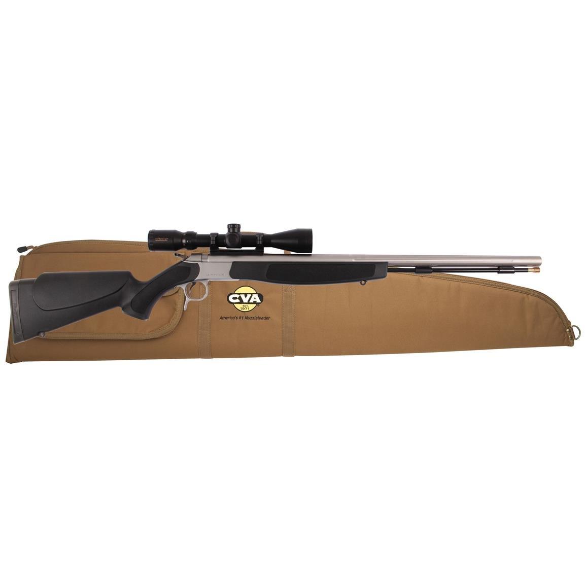 CVA Optima V2  50 Cal  Muzzleloader with KonusPro 3-9x40mm Scope - $305 99  + $4 99 S/H
