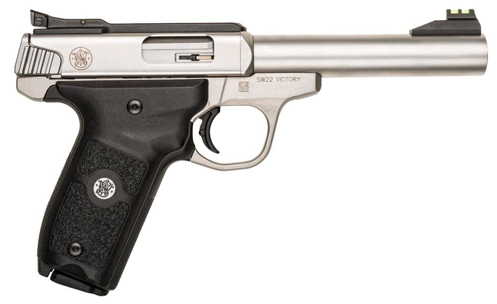 Smith & Wesson 108490 SW22 Victory Single 22 Long Rifle 5 5