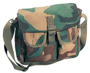 Military Cotton Canvas Ammo Shoulder Messenger Bag -  9 + FSSS  (Free S H  over  25) dff0c0b8461