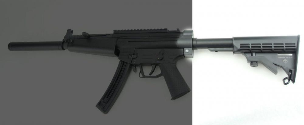 ATI American Tactical GSG 522 Folding Stock W/Adapter or FiXED stock and  free shipping - $9 99 (Free S/H)