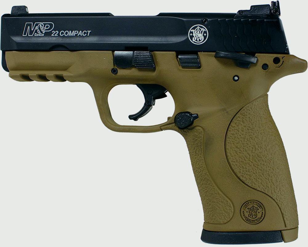 M+P22C DARK EARTH  22LR MTS - $249 99 (Free S/H on Firearms)