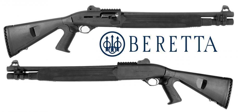 Beretta 1301 Tactical Pistol Grip Semi-Auto 12-Gauge Shotgun w/ Mag Tube  Extension - $1099
