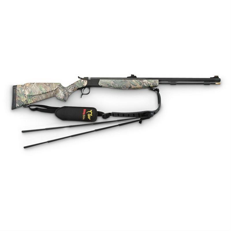 CVA Optima V2  50 cal  Black Powder Rifle, Blued / Camo - $260 99