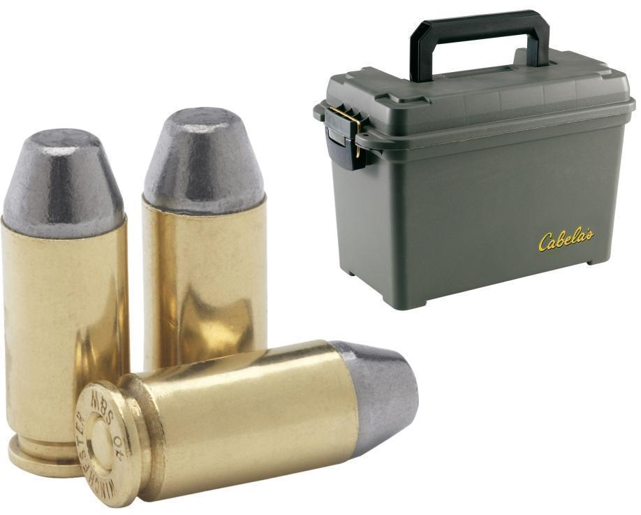 Conical-Nose Lead Ammunition 1200 rounds with Dry-Storage Box - $329.99 (Free S/H over $99 w/code  2017FREE ) | gun.deals  sc 1 st  gun.deals & Ultramax Bulk .40 Su0026W 180-gr. Conical-Nose Lead Ammunition 1200 ... Aboutintivar.Com