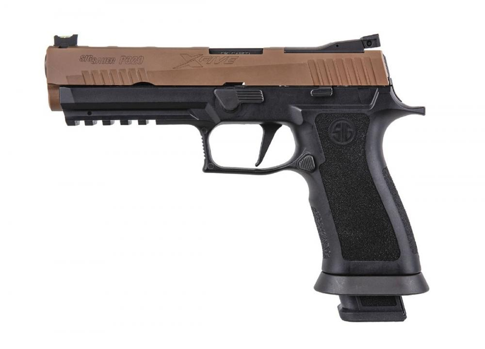 Sig Sauer P320 X-Five 9mm Pistol, Coyote/Black - $679 99