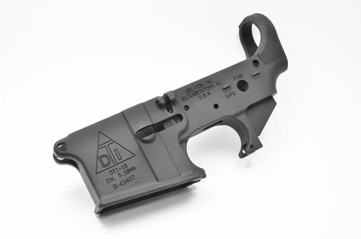 Del-Ton AR15 Stripped Lower Receiver $99 95 after coupon code! - $99 95