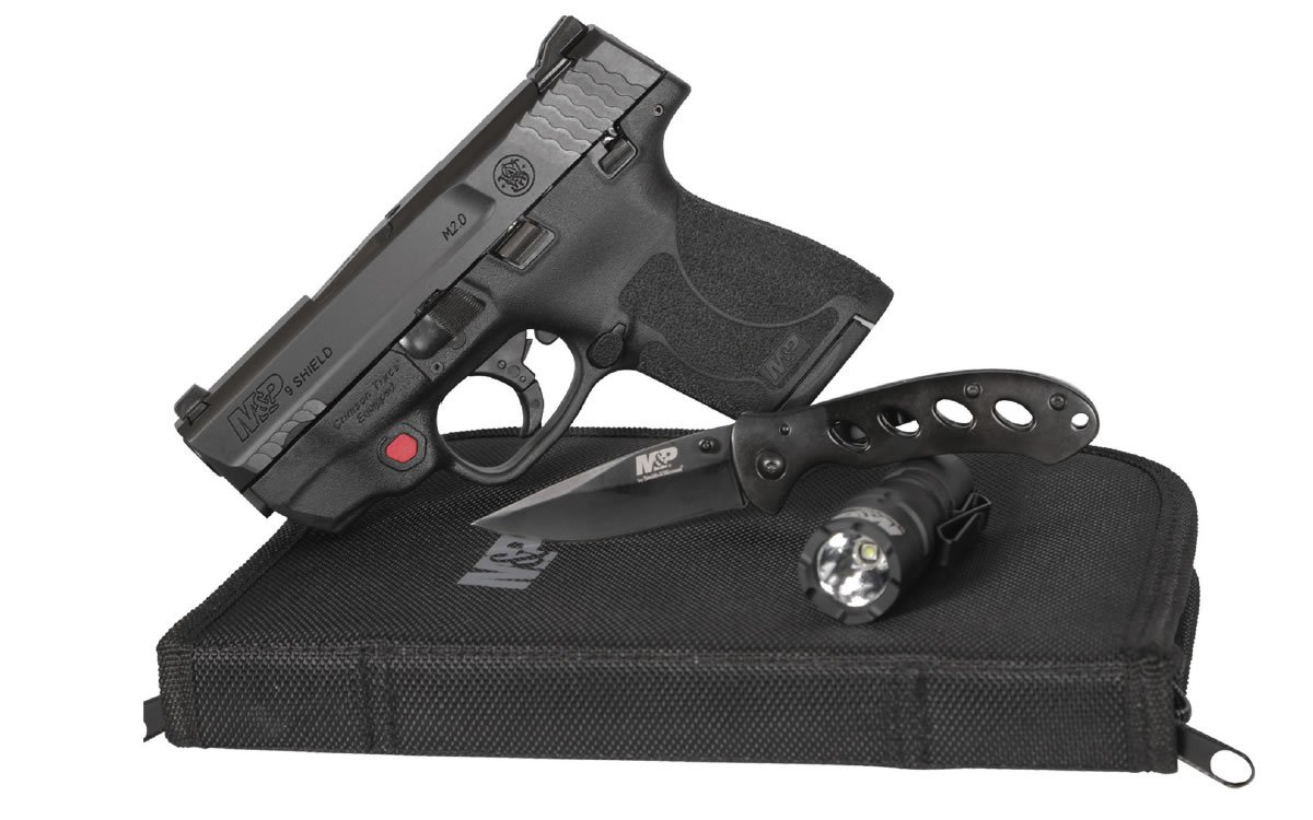 Smith & Wesson M&P9 Shield M2 0 9mm w/ Everyday Carry Kit - $349 99