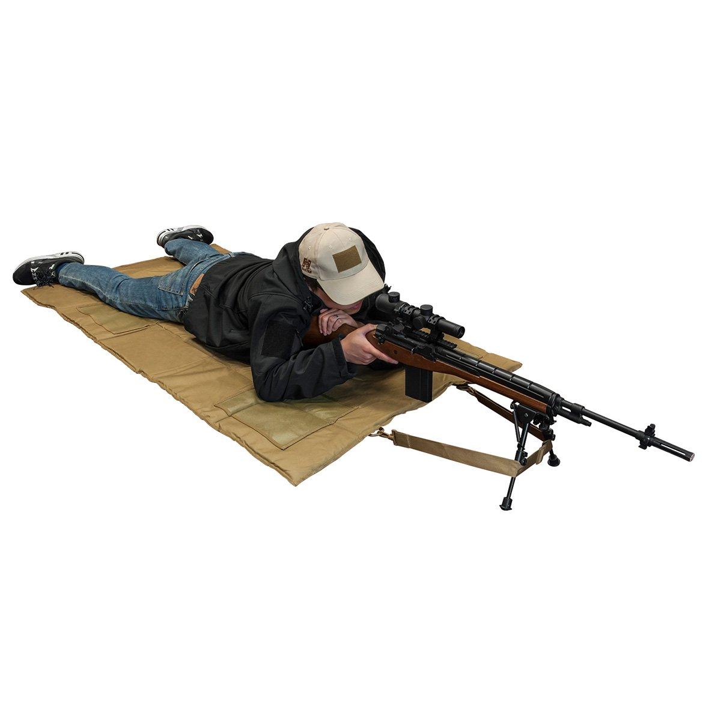 NcSTAR NC Star Roll Up Shooting Mat (Tan, Black, Gray) - $24 54 (Free S/H  over $25)