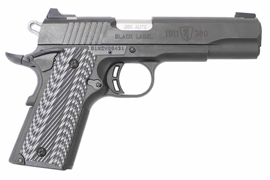 Browning 1911-380 Pro 380 ACP with G10 Grips and 3-Dot Sights - $549 99  (Free S/H on Firearms)