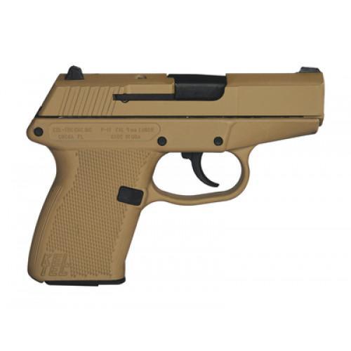 Kel-Tec P-11 Tan Cerakote 9mm 3 1-inch 10Rd - $188 99 ($7 99 S/H on  firearms)