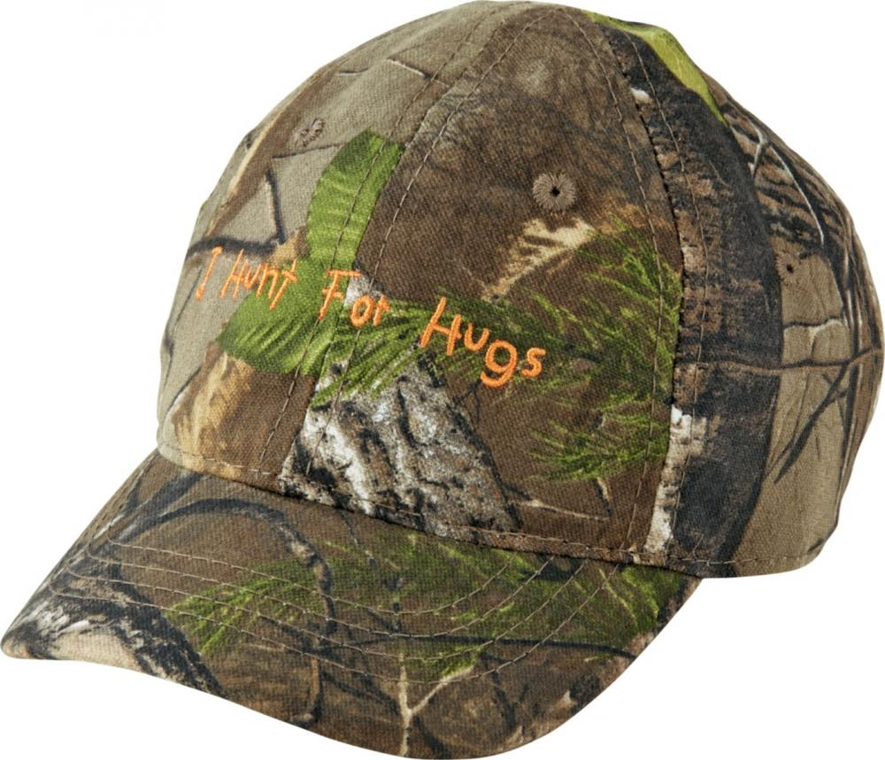 4cfe25250 Cabela's Infant/Toddler Boys' Camo Hunt For Hugs Cap - $8.99 (Free 2-Day  S/H over $50)