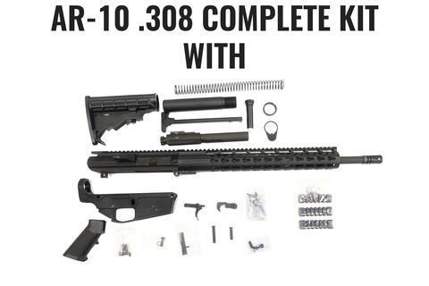 AR-10  308 Rifle Kit, 18