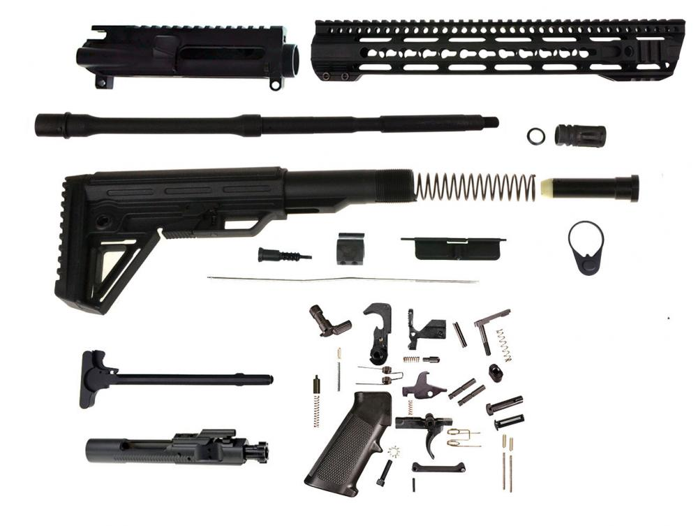 96 ar 15 pistol 75 complete upper kit 556 223 stainless. Black Bedroom Furniture Sets. Home Design Ideas