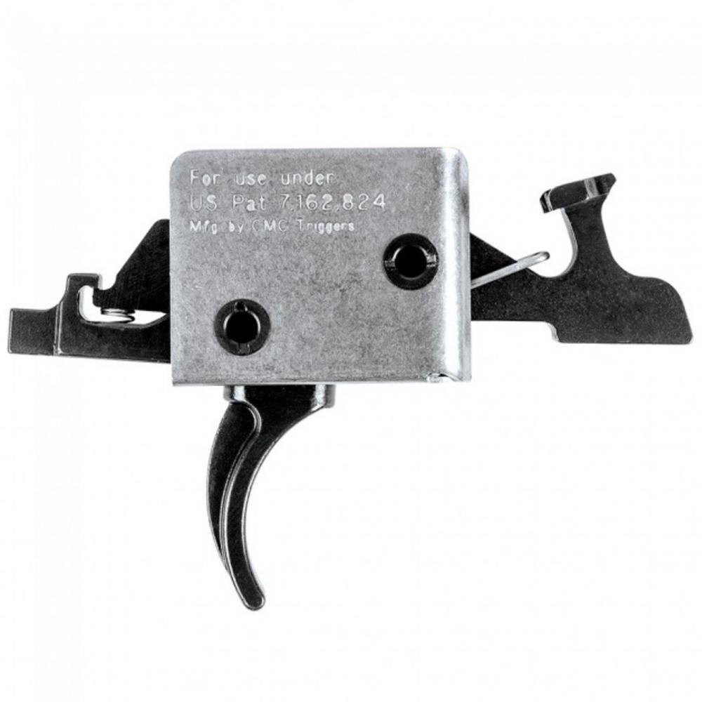 CMC Drop-In Triggers For AR15/AR10 Rifles 2 Stage / Curved / 2lb / Large  Pin - $183 98