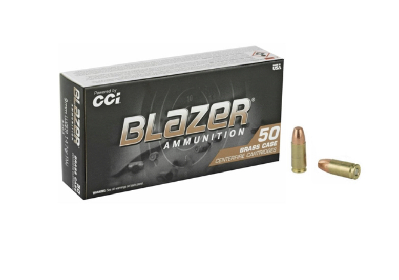 CCI Blazer Brass 9mm Luger Ammo 147 Grain Full Metal Jacket - $169 80 1000  rounds free shipping