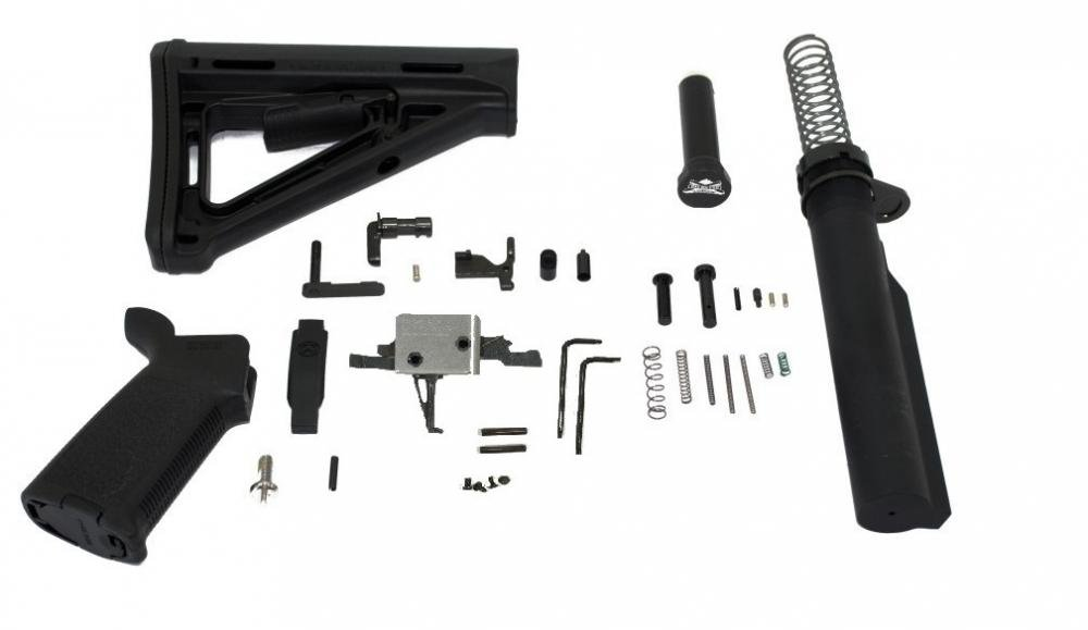 Poly80 G150 P2 AR15 Receiver Kit Guns Armas