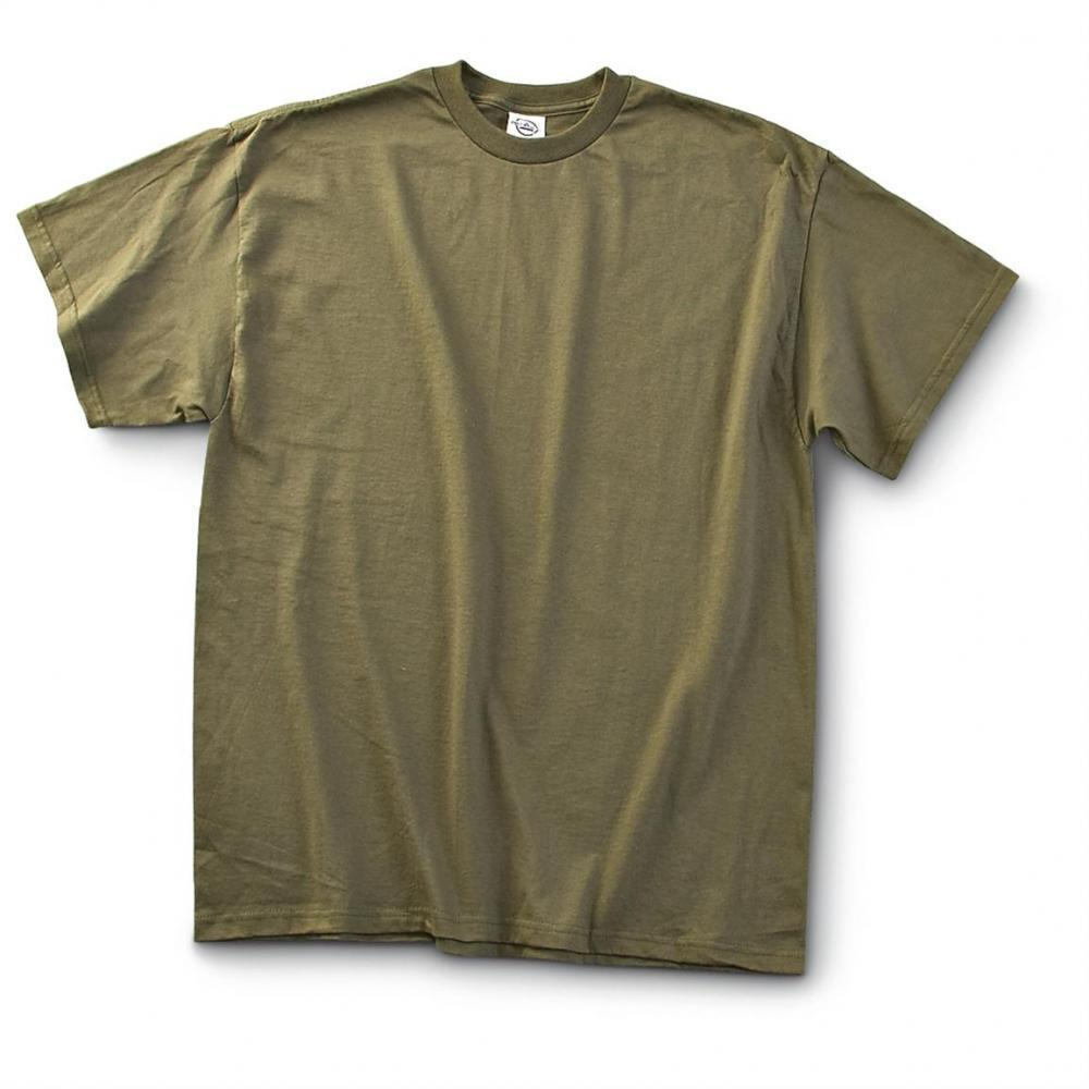 05bc42f9 12 Pack U.S. Military Surplus T-Shirts, New - $10.09 | gun.deals