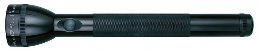 Black S4C015 4-Cell Flashlight in Display Box Xenon Maglite Heavy-Duty Incandescent